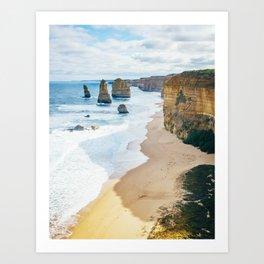 12 Apostles Fine Art Print  • Travel Photography • Wall Art Art Print