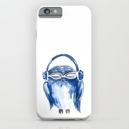Owls spying iPhone Case