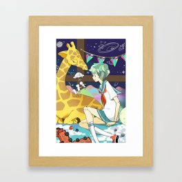 Playhouse Galaxy Framed Art Print