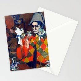 Pablo Picasso At the Lapin Agile Stationery Cards
