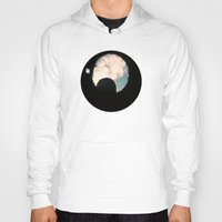 castle in the sky Hoodies featuring Sky Castle  by Ambers Vintage Find