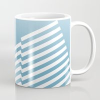 bands Mugs featuring Blue Bands R. by blacknote