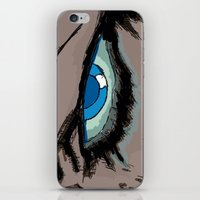 infamous iPhone & iPod Skins featuring Comic eyes (infamous) by  Steve Wade ( Swade)