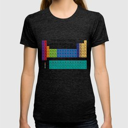 The Heroic Table of the Elements T-shirt