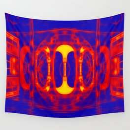 Fiery portal of our nightmares Wall Tapestry