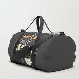 I Don't Care How Many You Had Before Me, Poster Design, Dark Duffle Bag