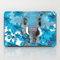 elephant iPad Cases featuring Elephant  by Saundra Myles