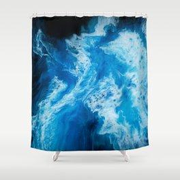 Dark Seas Shower Curtain