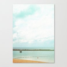 In between the seasky Canvas Print