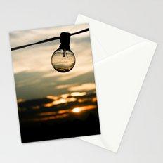 Unlit Sunset.  Stationery Cards