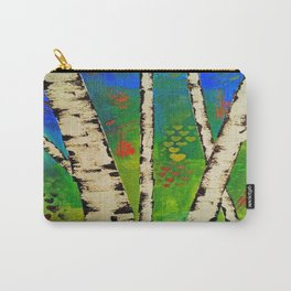 Blue Birch Carry-All Pouch