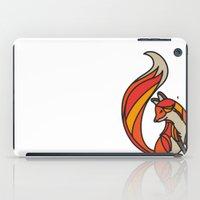 mr fox iPad Cases featuring Mr. Fox by Cohen McDonald