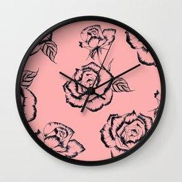 """""""PINK"""" Wall Clock"""