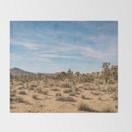 Joshua Tree National Park XXIV Throw Blanket