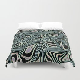TIME KEEPS ON SLIPPIN' Duvet Cover