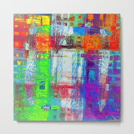 There's nothing waiting, there's nothing imminent, Metal Print