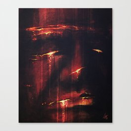 Red I Canvas Print