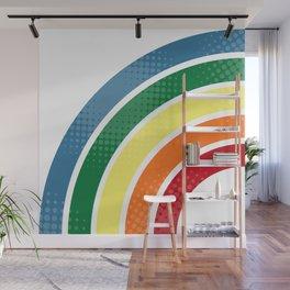 Retro stripes Wall Mural