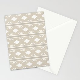 Coffee and Cream Aztec Design Stationery Cards