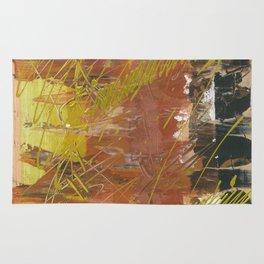 Shades of Gold by Australian Artist Vidy Potdar Rug