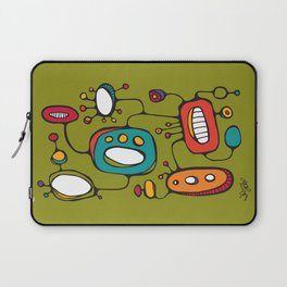 Scribbles 02 in Color Laptop Sleeve