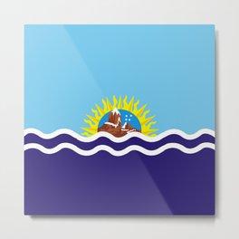 Flag of Santa Cruz Metal Print