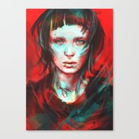 pop Canvas Prints featuring Wasp by Alice X. Zhang