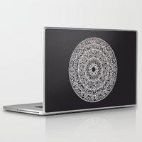 spiritual Laptop & iPad Skins featuring Spiritual Mandala by msimona