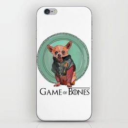 Game of Bones Tirian as a Chihuahua iPhone Skin