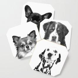 Black and White Dalmatian Coaster