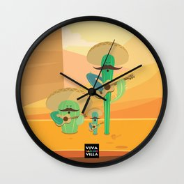 Cacturiachis Wall Clock