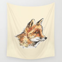 Fox Casual Wall Tapestry