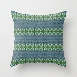 Mossy Rocks Patten Throw Pillow