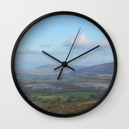 Quiet Countryside Wall Clock