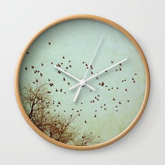 Restless Revisited Wall Clock