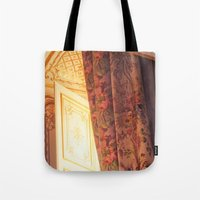 marie antoinette Tote Bags featuring Antoinette by French Californian