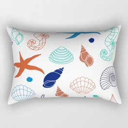 Just for the Shell of it Rectangular Pillow