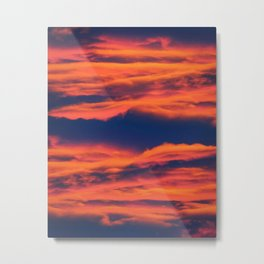 Endless sky Metal Print