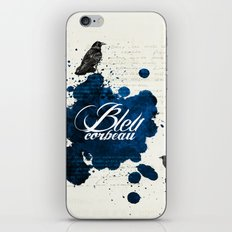 Bleu Corbeau iPhone & iPod Skin