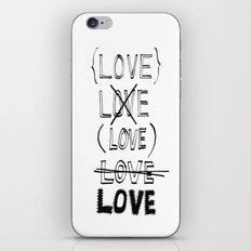 XLOVE iPhone & iPod Skin