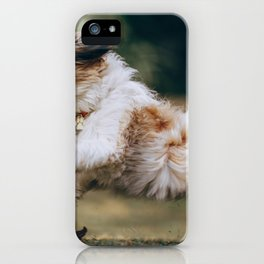 Dog by Helena Lopes iPhone Case