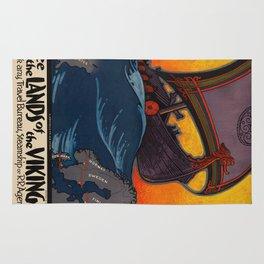 Vintage poster - Scandanavia Rug