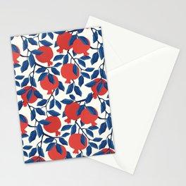 Pomegranate fruits Stationery Cards