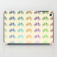 bicycles iPad Cases featuring Bicycles by George Hatzis