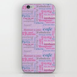 Parisian Holiday Collection iPhone Skin