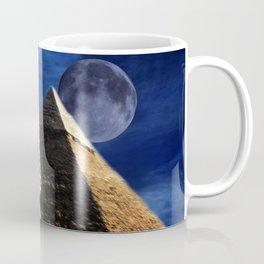 King Tut and Pyramid Coffee Mug