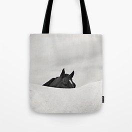 Horse Horizon Tote Bag