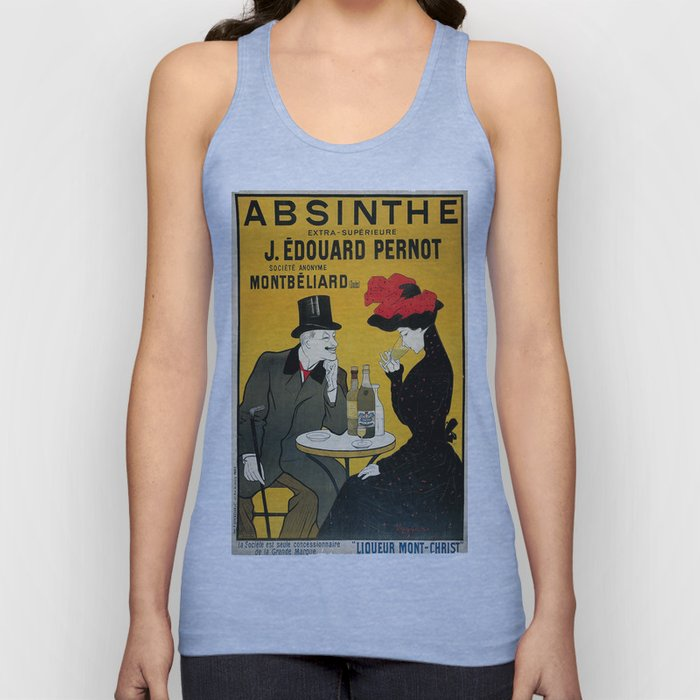 Vintage poster - Absinthe Unisex Tank Top