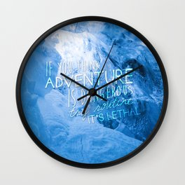 Routine is Lethal Wall Clock