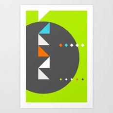 Spot Slice 03 Art Print